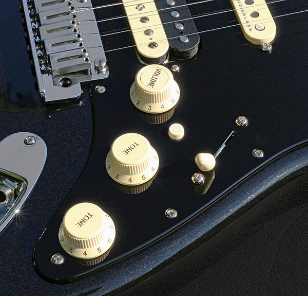 Genuine Fender Pickguard Elite Strat SSS Shell 4-Ply