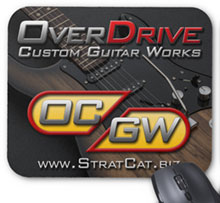 OverDrive Custom Guitar Works Mouse Pad