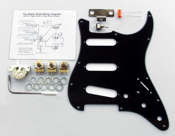 4031  Custom Manufactured Gilmour Style Black    Strat    Basic