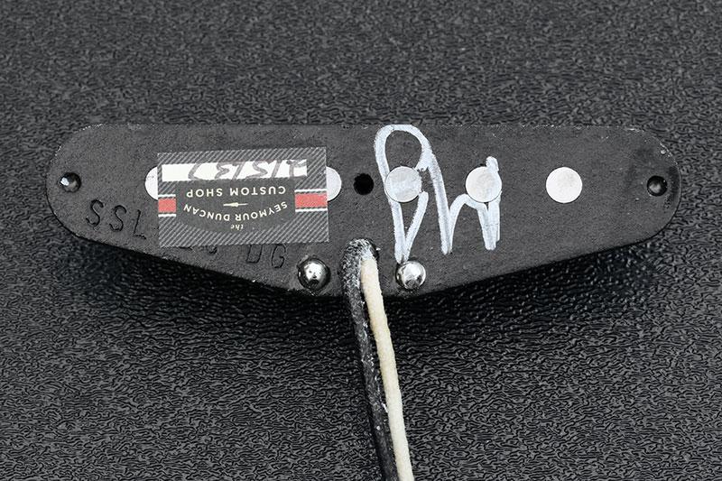 Custom Gilmour Black Strat Inspired Loaded Pickguard Assembly Package