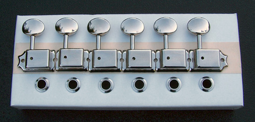 TK-0779-001 - Gotoh SD91MG Magnum Lock Vintage Style Locking Tuners, Nickel