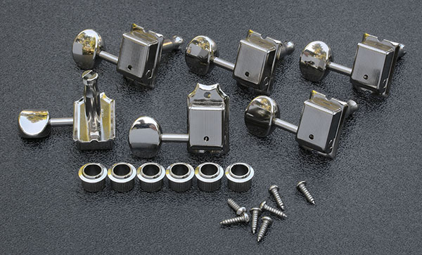 TK 0880-001 -  Gotoh SD91 Vintage Nickel Tuning Keys