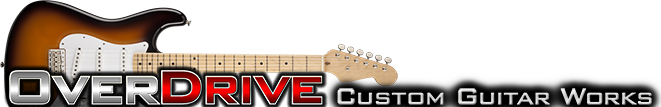 OverDrive Custom Guitar Works - Dedicated Strat Parts Resource