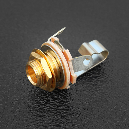 W-SC-11-G Switchcraft USA Gold 1/4'' Mono Output Jack - Type 11